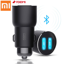 Xiaomi ROIDMI 3S Bluetooth Car Kit Handsfree FM Car Charger USB Charger and AUX car accessories For iPhone Android Smart Control