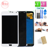 Mobile LCD Touch Panel For Samsung Galaxy S5 i9600 G900 LCD Display Touch Screen Digitizer Assembly Replacement For Samsung S5