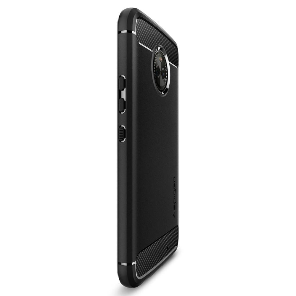 reputable site 60b5a 10239 US $16.99 |100% Original Spigen Rugged Armor Case for Moto X4 Phone Cases  Black M11CS22003-in Fitted Cases from Cellphones & Telecommunications on ...