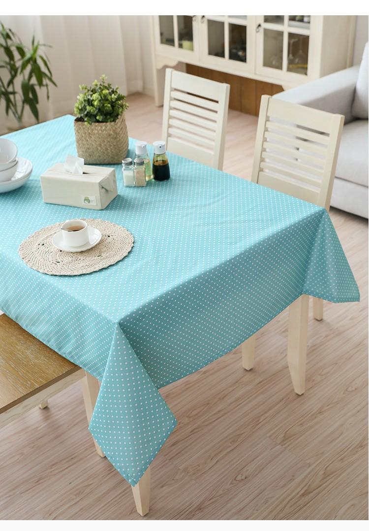 Veekindlast PVC materjalist kirjud laualinad