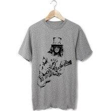 Guns and Roses gitarre solo slash skizze druck männer frauen größe t-shirt