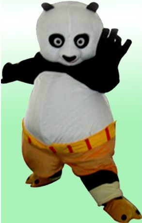 Взрослый размер кунг фу Панда Маскоты костюм кунг фу Панда купить на  AliExpress b52c4baa13927
