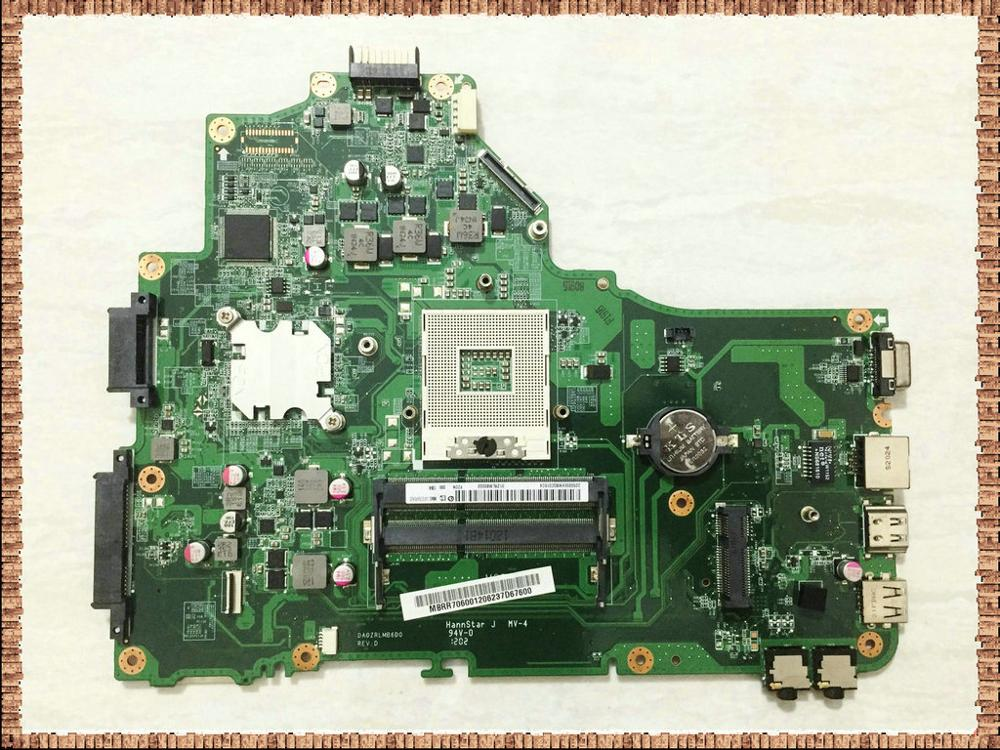 DA0ZRLMB6D0 for acer aspire 5349 5749 motherboard MBRR706001 MB.RR706.001 MAIN BOARD HM65 UMA DDR3 100% working