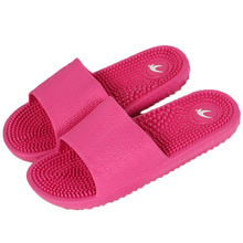2017 New Arrival Women's Fashion Candy Color Indoor Massage Slippers Lightweight Solid EVA Home Non-slip Massage Slippers