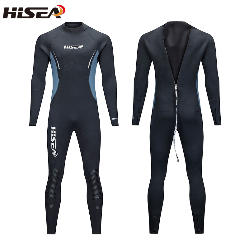Combinaison de plongée pour hommes de 5 MM à manches longues combinaison de plongée à manches longues