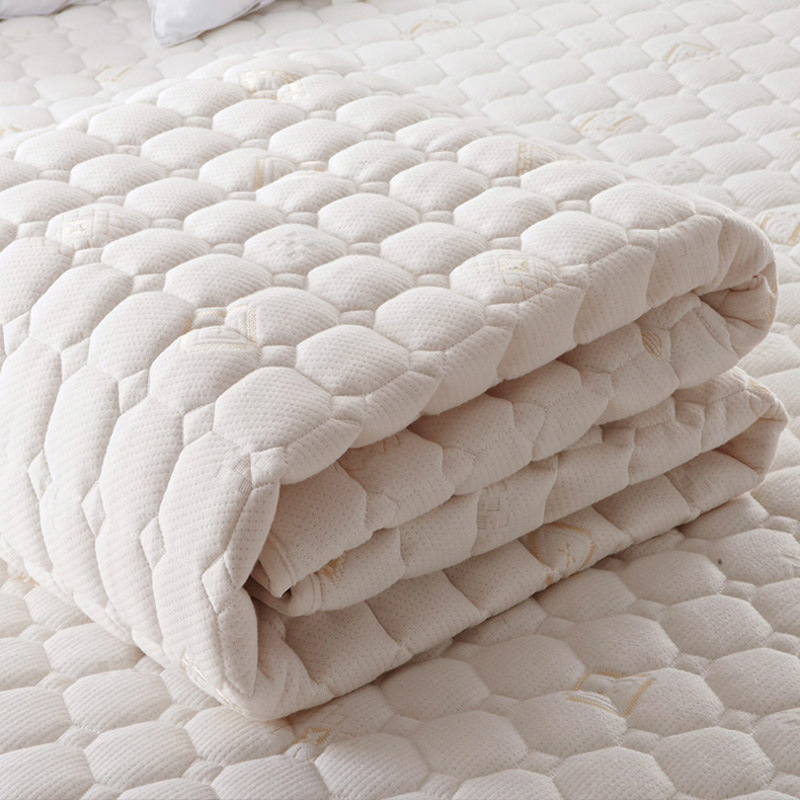 Mattress Toppers quilted Double-sided mesh knitted fabric white