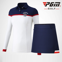 PGM Women Golf Clothing Set Ladies Breathable Confort Skirts
