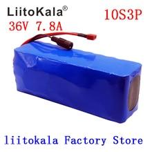 Умное устройство для зарядки никель-металлогидридных аккумуляторов от компании LiitoKala: 36V 7.8Ah 500w 18650 Перезаряжаемые аккумуляторной батареи, изменение велосипеды, электрических транспортных средств, е-байка 36В защиты с BMS