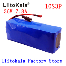 LiitoKala 36V 7.8Ah 500w 18650 Rechargeable battery pack ,modified Bicycles,electric vehicle Protection with BMS