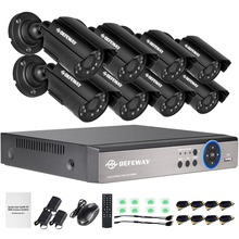 DEFEWAY 1200TVL 720 P HD Outdoor Giám Sát An Ninh Hệ Thống 8 Channel 1080N HDMI CCTV DVR Kit 8CH AHD Máy Ảnh bộ