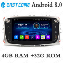 1080P 4GB RAM Octa Core Android 8..0 Car DVD GPS Radio Player For Ford Mondeo Focus C S MAX 2007 2008 2009 2010 2011 Kuga Galaxy