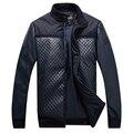 2016 popular de invierno de algodón acolchado chaqueta wadded de los hombres de moda con capucha calentamiento puro algodón prendas de vestir exteriores caballero envío libre