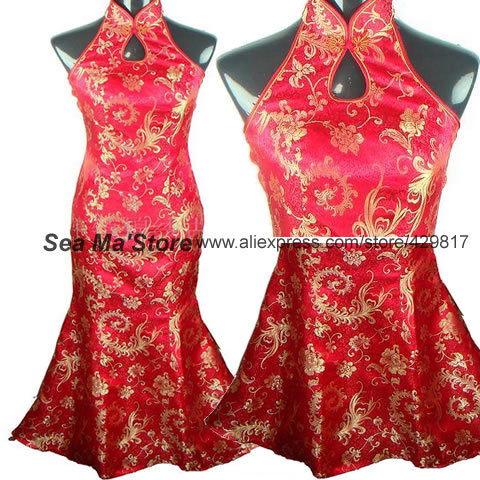Chinese Wedding Suit Womens Tangzhuang Style Bride Wedding