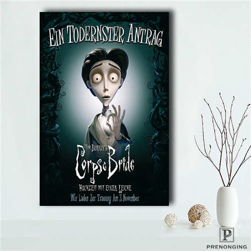 Surprising Us 1 5 42 Off Custom Corpse Bride 1 Printing Posters Cloth Fabric Wall Art Pictures For Living Room Decor18 12 10 18 88 In Painting Calligraphy Pdpeps Interior Chair Design Pdpepsorg
