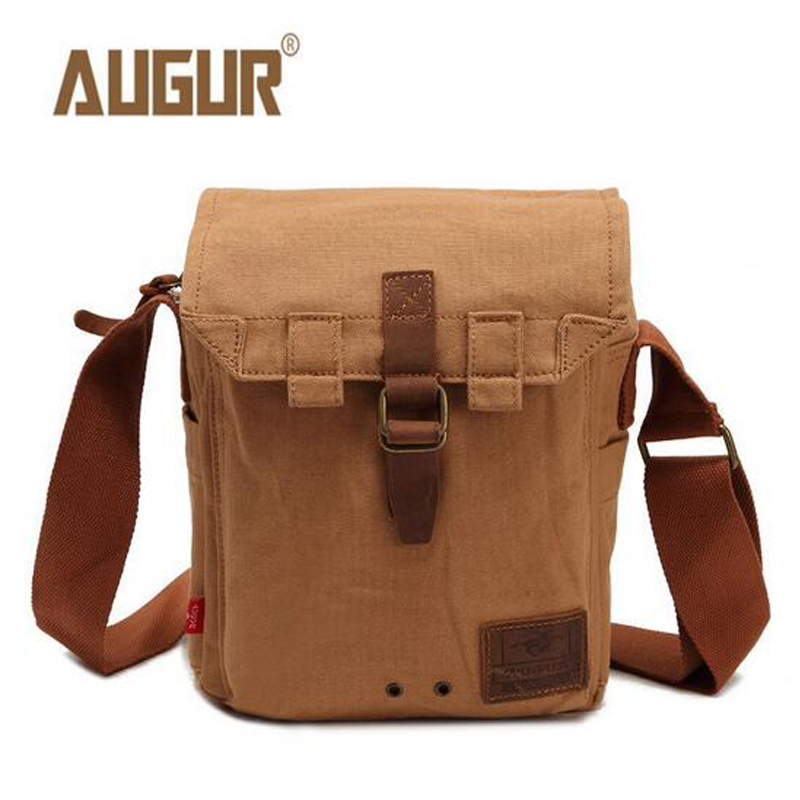 AUGUR Men Messenger Bags Designer High Quality Canvas Shoulder Bag Casual Zipper Office Crossbody Bags PD0238 augur casual men messenger bags high quality oxford waterproof man shoulder bag luxury brand crossbody bags designer handbags