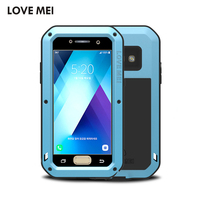 Genuinel LOVE MEI Powerful Extreme Metal Aluminum Case For Samsung Galaxy A3 Galaxy A5 Protective Case