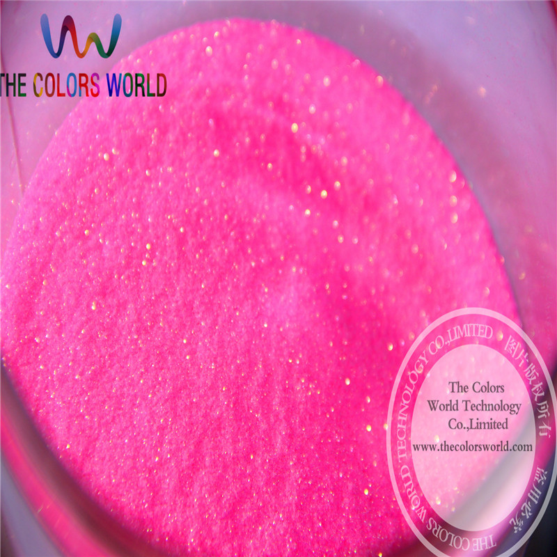 TCH2027 Wholesale 0.1mm 004 Size Shinning Bullion  Red Pink Iridescent  Color Fine Glitter Powder