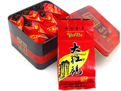 Da Hong Pao Tea,Big Red Robe,Dahongpao , high quality health care China<tea Grade AAAAA  8 packs /box Chinese Oolong