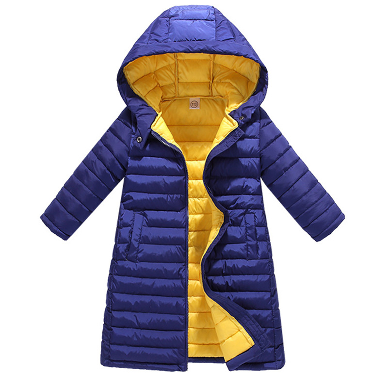 2019 Girls Winter Coats Jackets for Boys Coats Winter Warm Girls Down Jacket Children Clothing Cotton Hooded Kids Outerwear