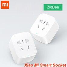 Xiaomi mi умная Wi-Fi розетка ZigBee версия приложения дистанционное управление таймер Обнаружение мощности с умным домом mi Home приложение