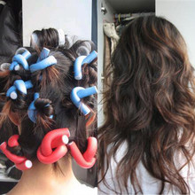 Get more info on the 10PCS Curler Makers Soft Foam Bendy Twist Curls DIY Styling Hair Rollers Tool Style Sponge Rollers Curly Hair   4