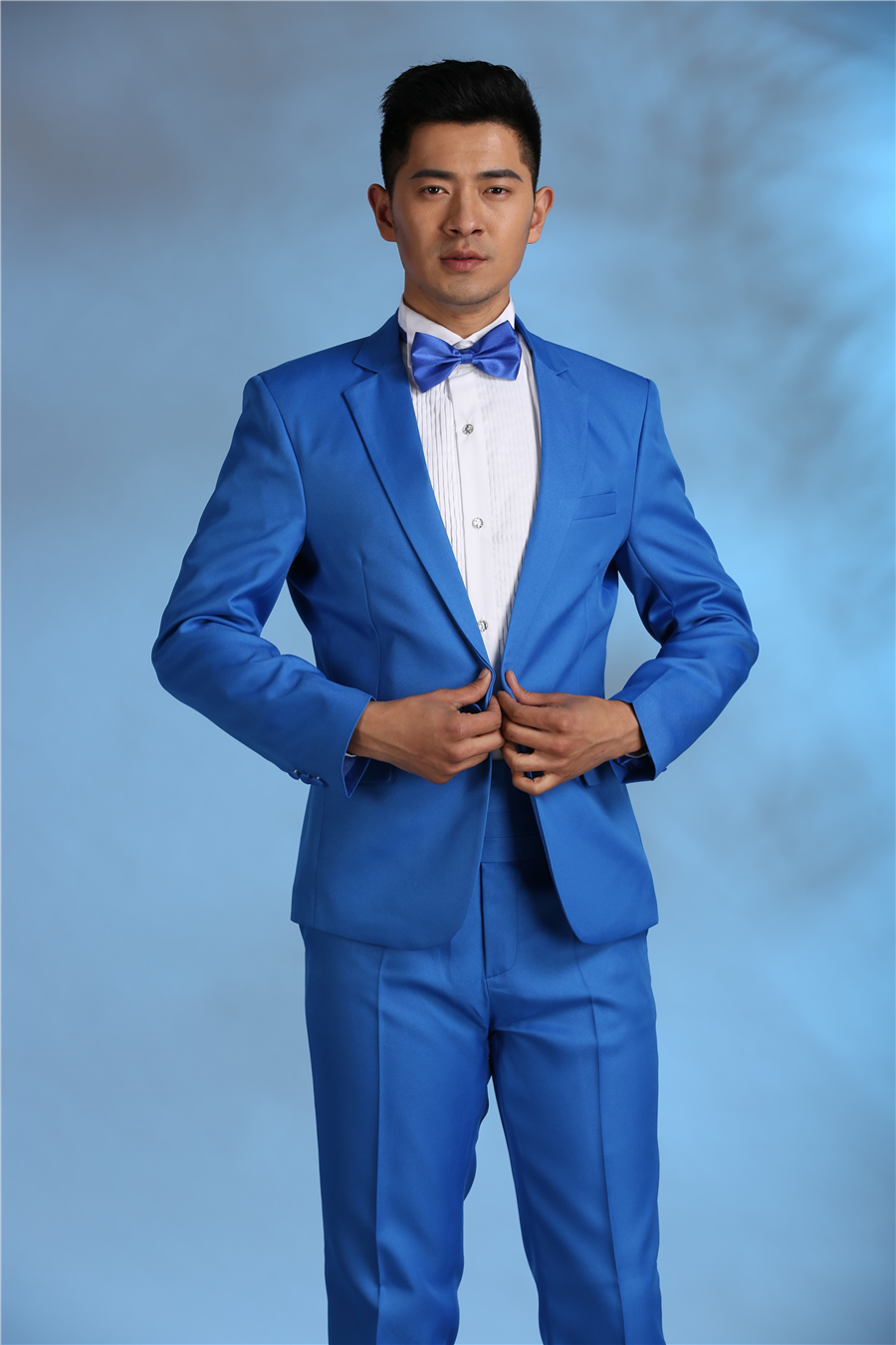 Latest Coat Pant Designs Red Blue Pink Costume Men Suit Slim Fit 2 ...