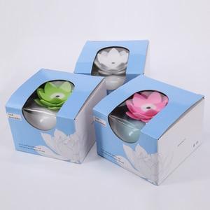 Image 5 - Humidificador de Aroma ultrasónico de cerámica, difusor de aire de 200ML, purificador de loto sencillo, atomizador, difusor de aceites esenciales