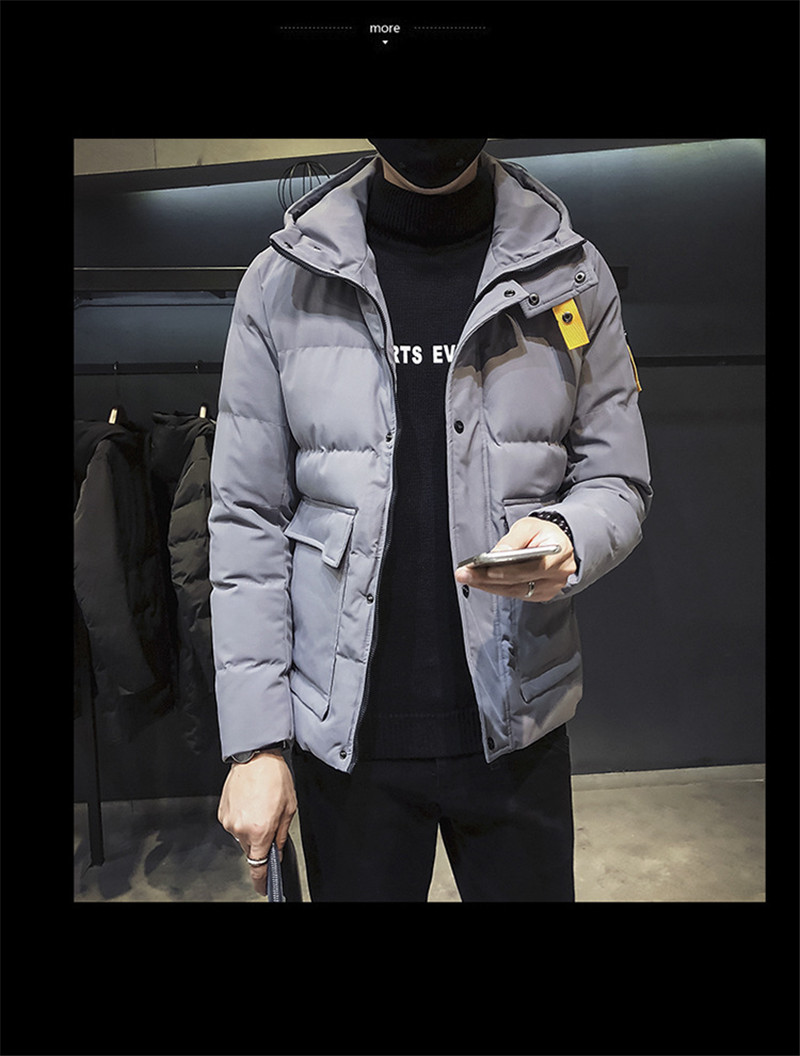 Qualité Duvet Lettre Hommes Canard Veste Le Manteaux Plus Jacket Jacket Impression Haute gray Vers Chaud Capuchon À Down Outerwer La D'hiver Male Parkas De green Taille Black Bas Hiver Casual Jacket wt6qdnXxvx