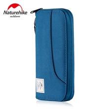 Naturehike Card Holder Travel Hiking Running Bag Waterproof RFID Blocking Wallet for Air Ticket Cash passport NH18X020-B