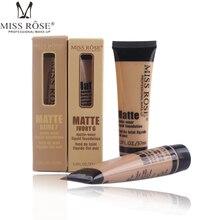 MISS ROSE профессиональная основа Матовая жидкая основа для макияжа Водонепроницаемый консилер для лица основа для макияжа Косметика для ремонта лица макияж