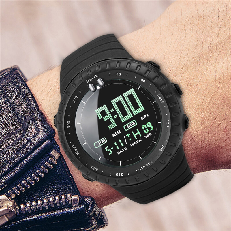 Watches New Men Digital Watches Reloj Hombre 30m Waterproof Sport Led Digital Dual Watch Military Electronics Movement Homme Montre Md5 Men's Watches