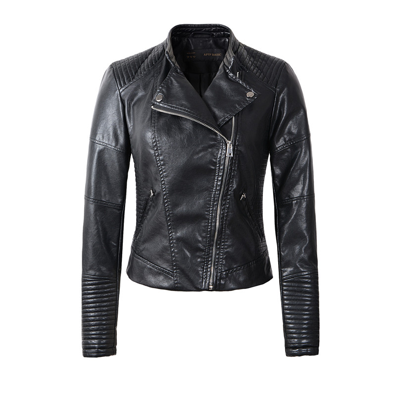 Popular Womens Leather Coat Sale-Buy Cheap Womens Leather Coat ...