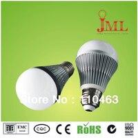 Trasporto libero led compatta luce globale 3 W 5 w 7 w 100-240 V oro argento ha condotto globo lampadina E27 B22 lampada indooor luce 10pce/lot
