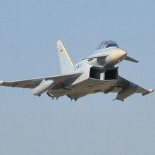 Freewing 1.4 м EF2000 Тайфун реактивный самолет rc модель PNP/АРФ