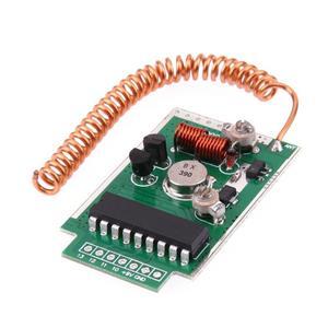 Image 3 - 1/2/3pcs 390MHz DC9V 4000m RF Remote Wireless Transmitter Module Large Power 4km Long Distance PCB Board Launcher Receiver Kit