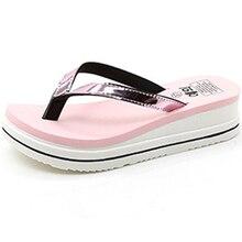women flip flops Wedge Antiskid Summer Slippers Casual  Beach Sandals Women Flip Flops Comfort Slipper Thong Shoes