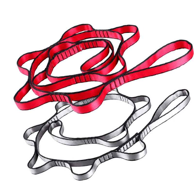 1.1 Meters Long Yoga Sling Rope Chrysanthemum Hammock Aerial Swing Extension With High Quality Strong Suspension Extension Belt1.1 Meters Long Yoga Sling Rope Chrysanthemum Hammock Aerial Swing Extension With High Quality Strong Suspension Extension Belt