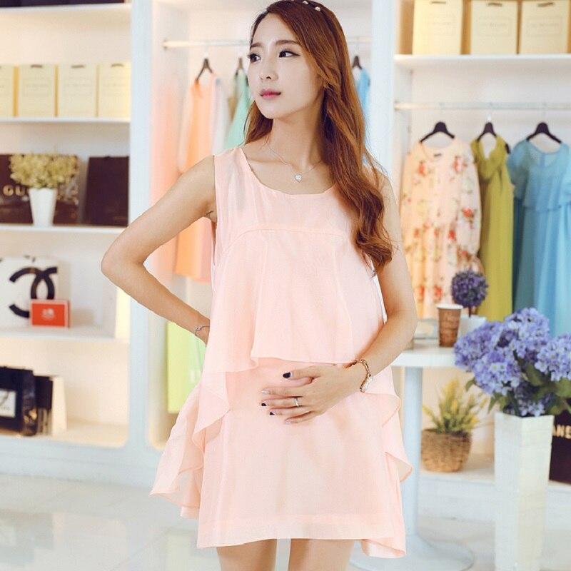 new summer maternity dresses chiffon womens dresses pregnancy dresses maternity clothing summer clothing 16618