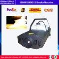 Профессиональный Сценический специальный эффект DMX512 1500 Вт  портативный дымовой противотуманный аппарат