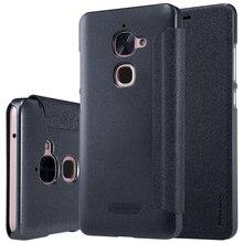 Для LeTV 2 LeEco Le2 X527 X520 крышку Le 2 Pro X620 кожаный чехол NILLKIN Жесткий ПК матовый черный чехол Флип Смарт сна чехол для телефона