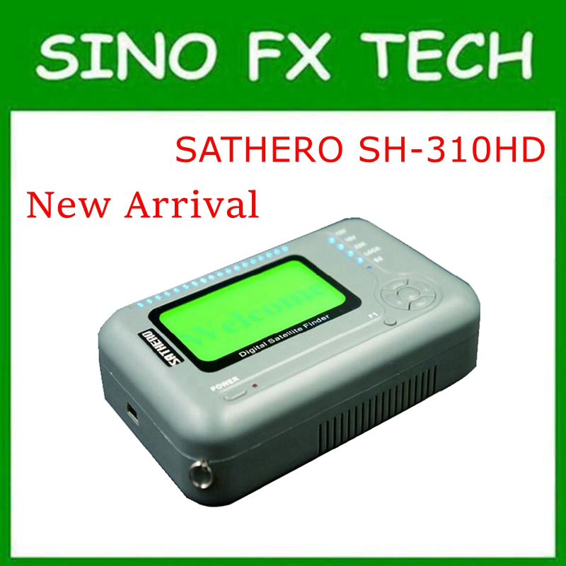 most cost effective DVB S2/T2 Combo Signal Finder SATHERO SH 310HD Digital Satellite Finder SH 310HD