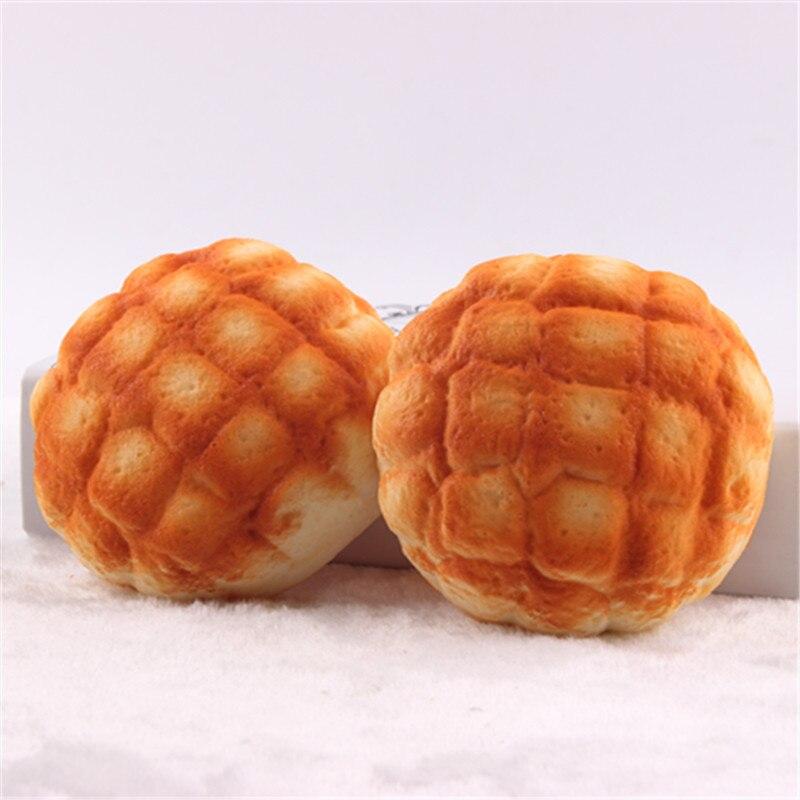σπάνια squishy Ανανάς ψωμάκια ψωμί, 10cm γύρο ψωμάκια squishies αργά αυξάνεται Home Decor (20PCS LOT) Χονδρικό