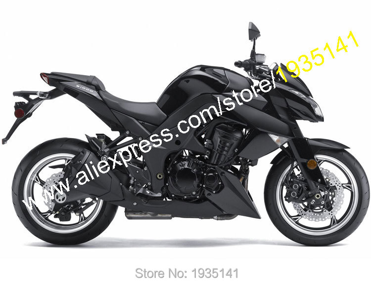 Hot Sales,For Kawasaki Z1000 2010 2011 2012 2013 Z 1000 10-13 Full Black Aftermarket Motorcycle Fairing Kit (Injection molding) hot sales black frosted style motorcycle