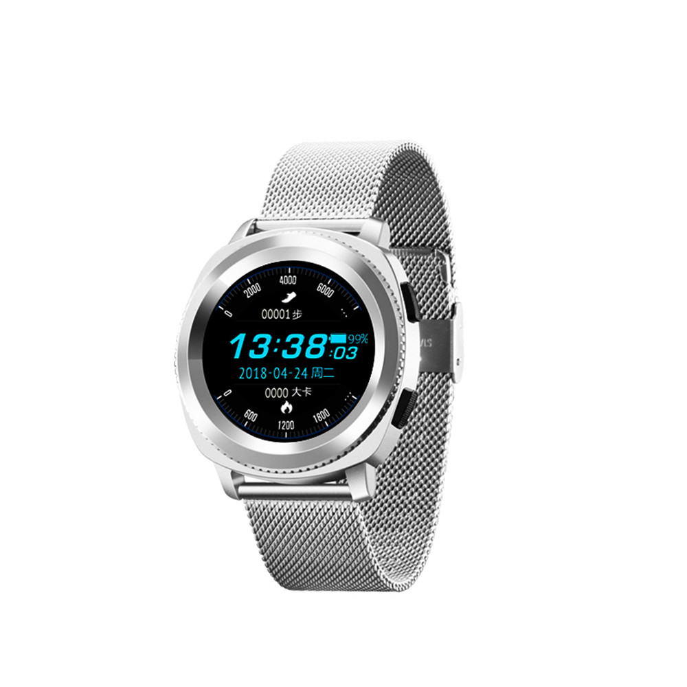 LUOOV Smart Watch MTK2502 Smartwatch IP68 Waterproof Bluetooth Calling Heart Rate Sleep Monitor Sports Watch hot sale genuine leather band watch lemfo lme1 mtk2502 bluetooth smart watch with pedometer sleep monitor unisex watch