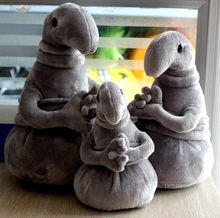 Zhdun Meme Tubby Gray Blob Waiting Plush Toy Zhdun Toy Snorp Plush Doll Toys Pochekun Homunculus