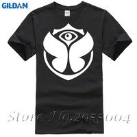 New Hip Hop Short Sleeve O Neck T Shirts Electronic Music Tomorrowland T Shirts Man Classic