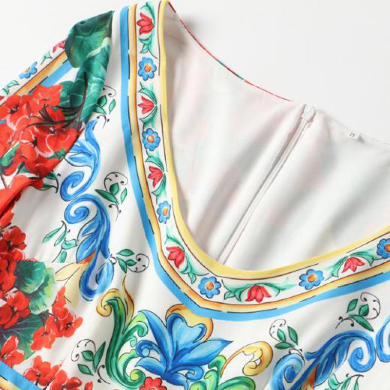 Bunte Frauen Ausschnitt Kalb Gedruckt Goodlishowsi L ssige Ferien Midi Kleid V Blume fYb76mIgyv