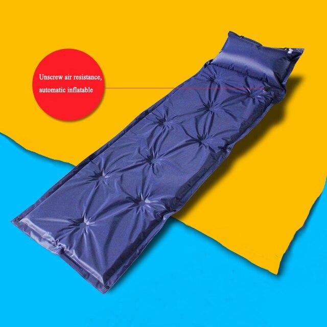 Materasso Pieghevole Per Lettino Da Campeggio.Auto Gonfiabile Sleeping Mat Materasso Con Cuscino Autogonfiante