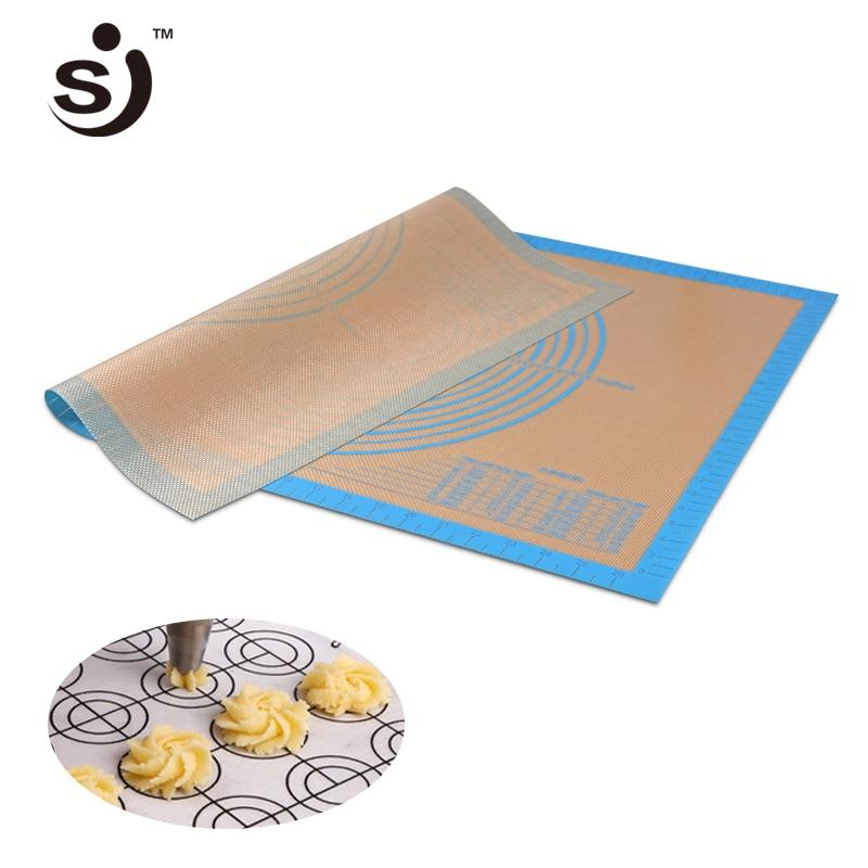 Fine Glass Fiber Silicone Pad Baking Sheet Rolling Dough