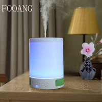 Humidifier Purifier Bluetooth Speakers Bluetooth Stereo Heavy Bass Aromatherapy Machine Built In Battery Lights Phone Music